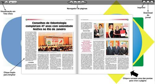Nova visualização do Jornal do CFO