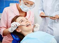 Girl in dentist clinic